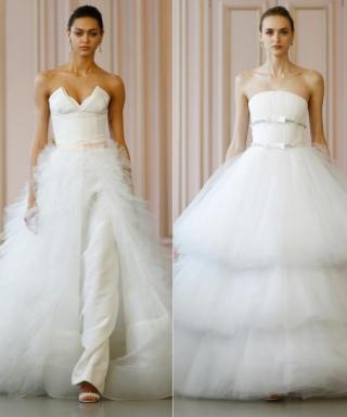 Peter Copping Debuts His Bridal Collection for Oscar de la Renta and It's Breathtaking