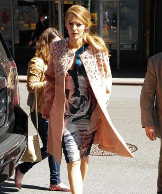 Another Day, Another Stunning Outfit for Blake Lively