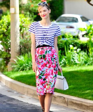 4 Ways Celebrities Styled Their Capri-Happy Milly for Kohl's Pieces