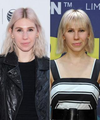 Zosia Mamet Debuts a Chic New Set of Bangs