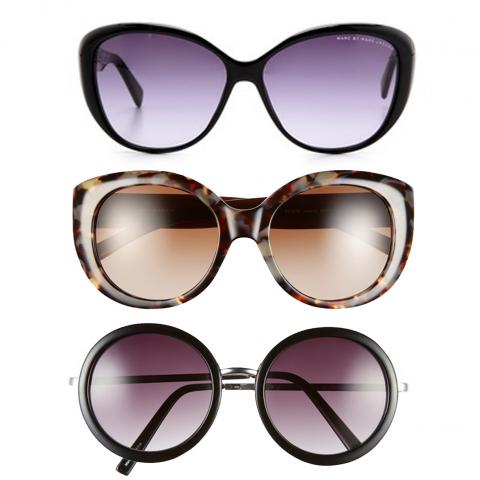 Marc by Marc Jacobs, Tory Burch and BP. Sunglasses