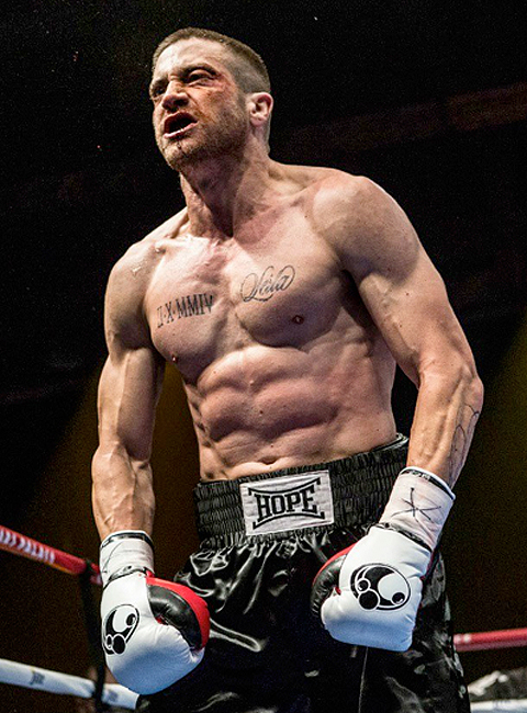 Jake Gyllenhaal in Southpaw - Embed