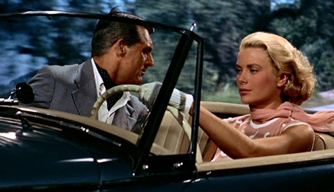 North by Northwest - Grace Kelly and Carey Grant