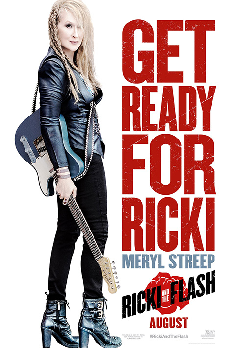 RICKI AND THE FLASH, advance US poster art, Meryl Streep, 2015. © Sony Pictures Releasing /