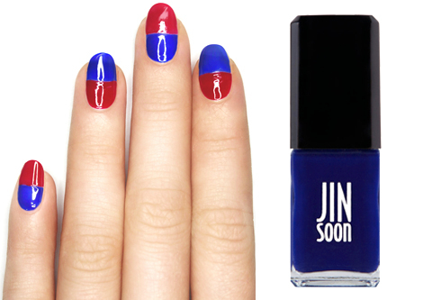 Stars and Stripes Nail Embed 3