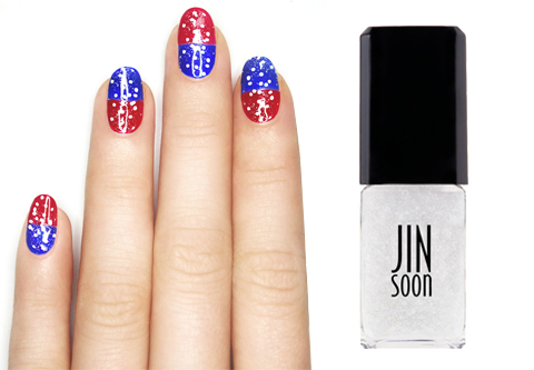 Stars and Stripes Nail  Embed 4