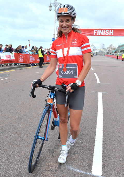 Pippa Middleton Bike Ride - Embed