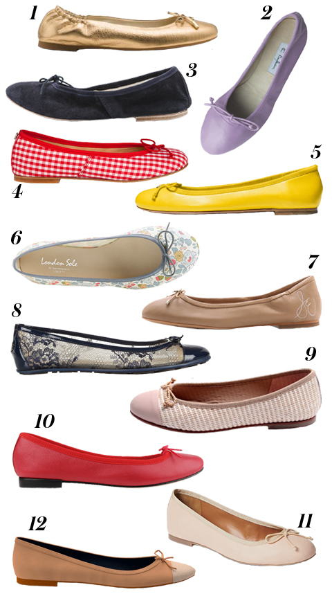 Ballet Flats - Embed