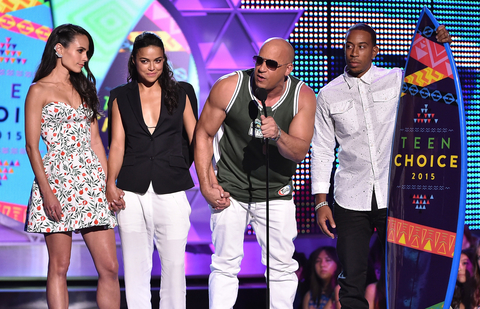 Fast and the Furious at the TCAs