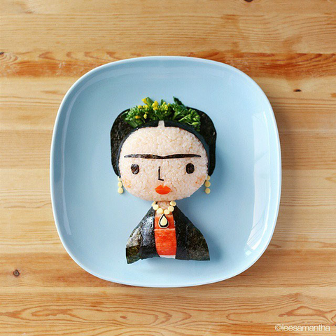 Frida Kahlo lunch box from Samantha Lee