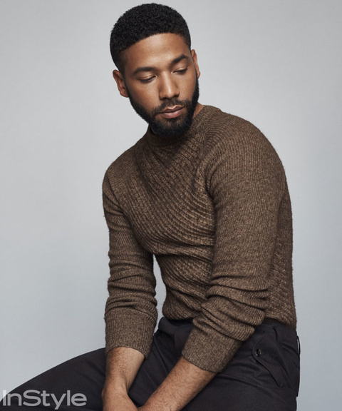 Jussie Smollett in InStye September Issue
