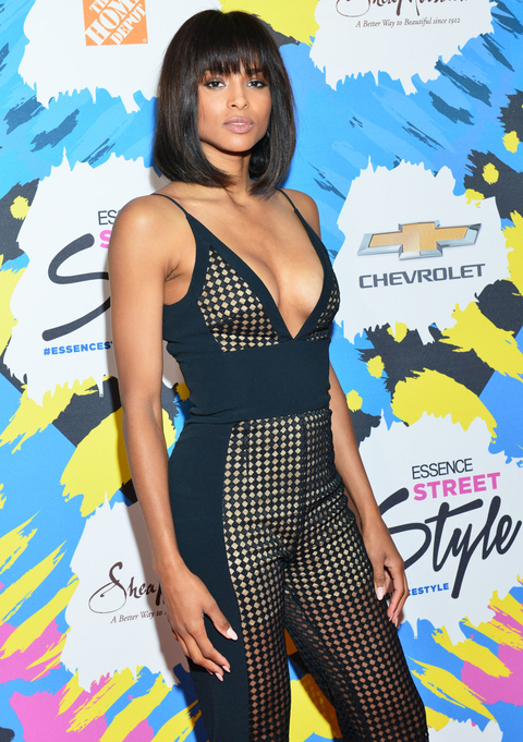 Ciara at Essence Street Style Awards