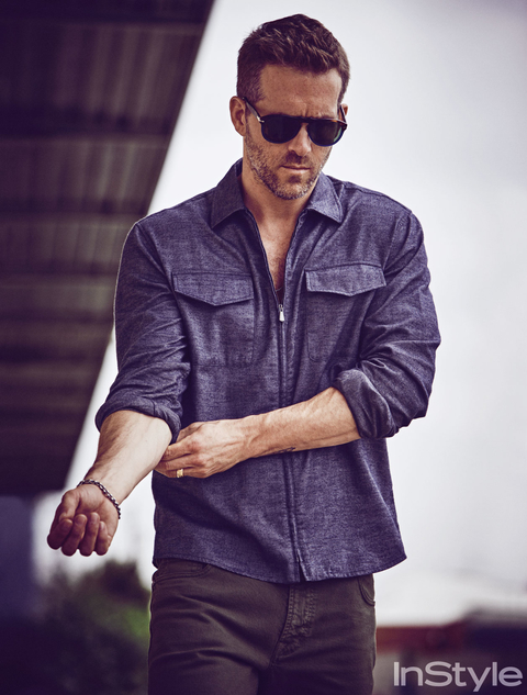 Ryan Reynolds in October 2015 InStyle