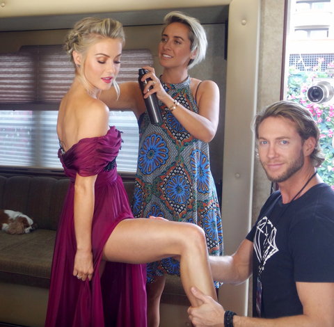 Julianne Hough DTWS Diary 3