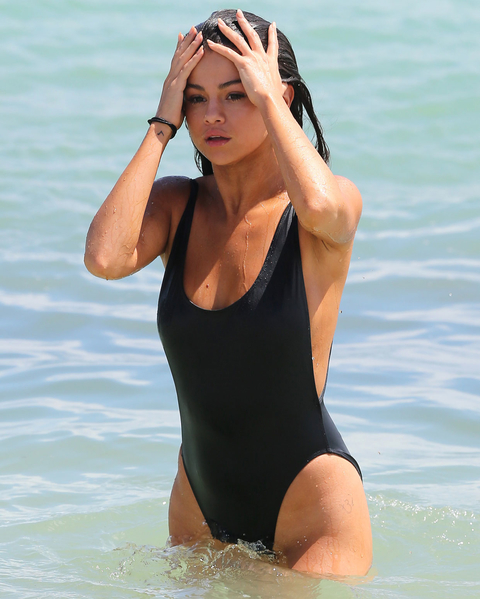 Selena Gomez Bathing Suit - Embed