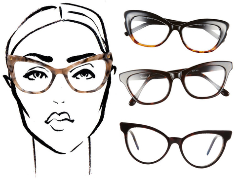 Eyeglass Frames For Wide Faces : How to Make Geek Chic Look Great According to Your Face ...