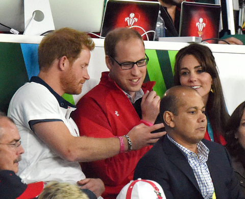 Harry, William and Kate Embed 1