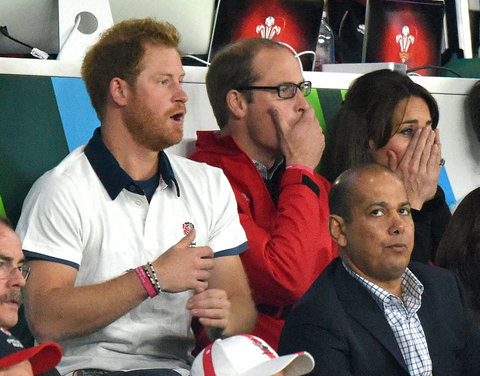 Harry, William and Kate Embed 2
