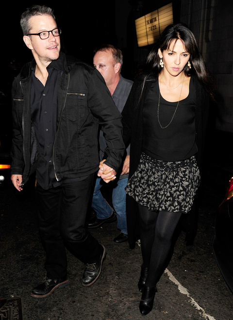Amal and George Night Out Embed 1