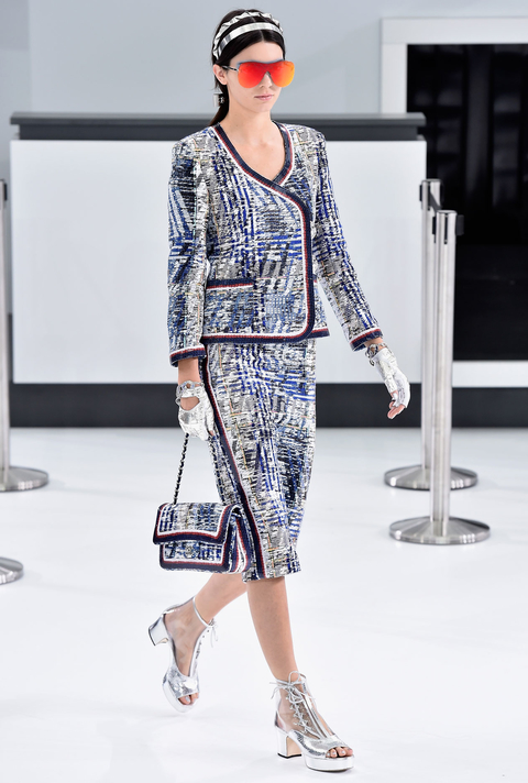 Kendall Jenner at Chanel - Embed