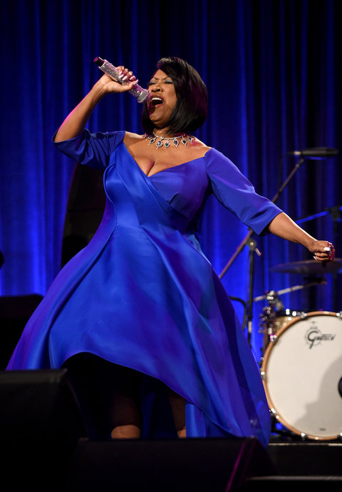 NEW YORK, NY - OCTOBER 19:  Patti LaBelle performs during Angel Ball 2015 hosted by Gabrielle's Angel Foundation at Cipriani Wall Street on October 19, 2015 in New York City.  (Photo by Bryan Bedder/Getty Images for Gabrielle's Angel Foundation)