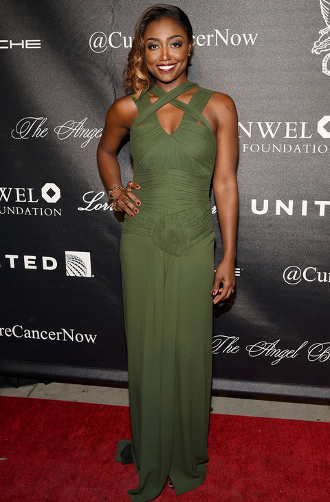 NEW YORK, NY - OCTOBER 19:  Actress Patina Miller attends Angel Ball 2015 hosted by Gabrielle's Angel Foundation at Cipriani Wall Street on October 19, 2015 in New York City.  (Photo by Bryan Bedder/Getty Images for Gabrielle's Angel Foundation)