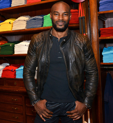 Tyson Beckford -  November 3, 2015 - Polo Ralph Lauren host Victories of Athlete Ally held at Polo Ralph Lauren Store, NYC. (Photo by Jared Siskin/Patrick McMullan) *** Please Use Credit from Credit Field ***