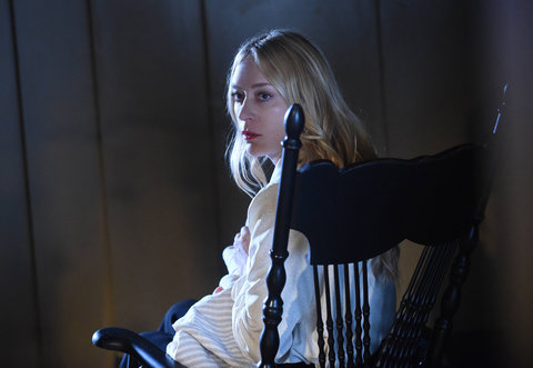 "AMERICAN HORROR STORY -- ""Room 33"" Episode 506 (Airs Wednesday, November 11, 10:00 pm/ep) Pictured: Chloe Sevigny as Alex Lowe.                     CR: Ray Mickshaw/FX"
