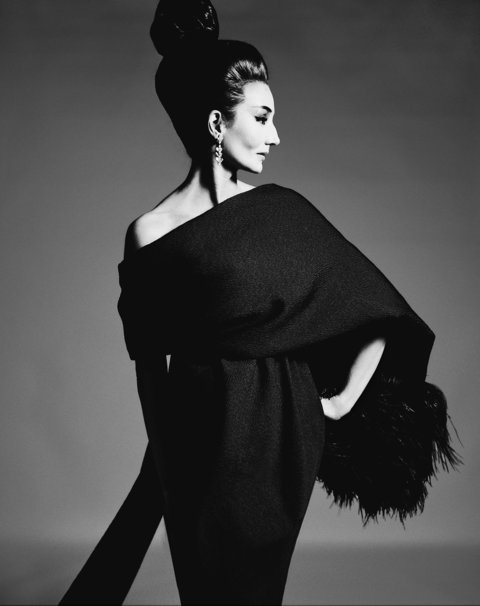 Jacqueline de Ribes in Yves Saint Laurent, 1962