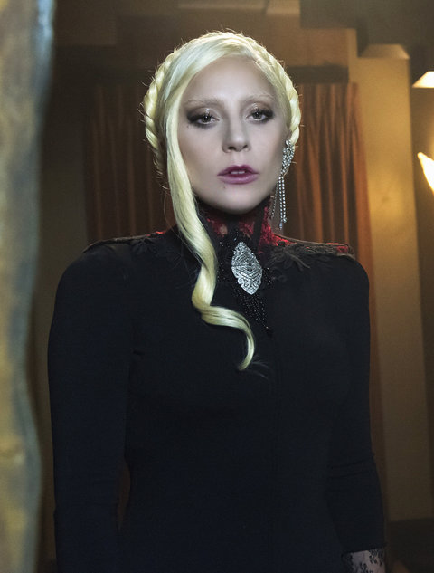 """AMERICAN HORROR STORY -- """"Flicker"""" Episode 507 (Airs Wednesday, November 18, 10:00 pm/ep) Pictured: Lady Gaga as The Countess. CR: Prashant Gupta/FX"""