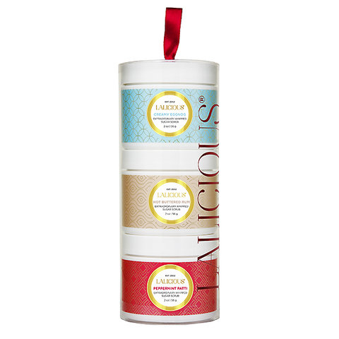 LaLicious Limited Edition Holiday Sugar Scrub Tower