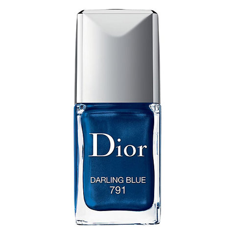 Dior Vernis Gel Shine and Long Wear Lacquer in Darling Blue