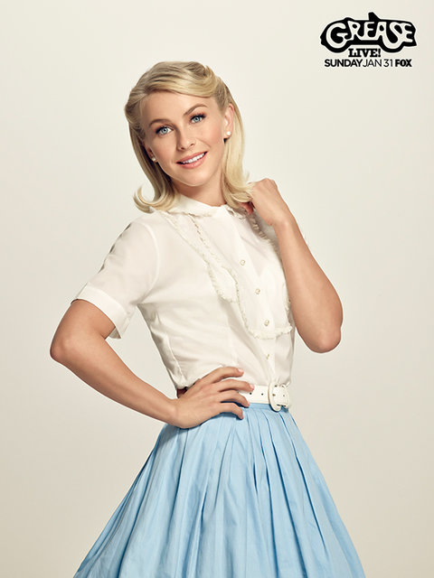 Admirable See Vanessa Hudgens And Julianne Hough As Their Grease Live Short Hairstyles Gunalazisus