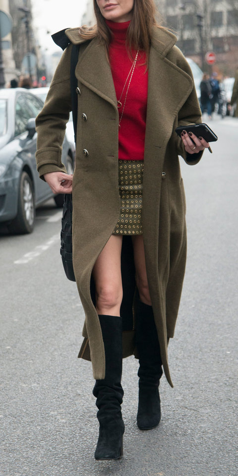 how to wear knee high boots with skirts instyle