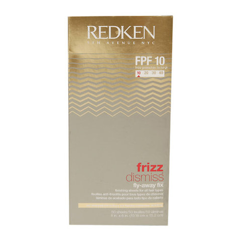Redken Frizz Dismiss Fly Away Fix Sheets