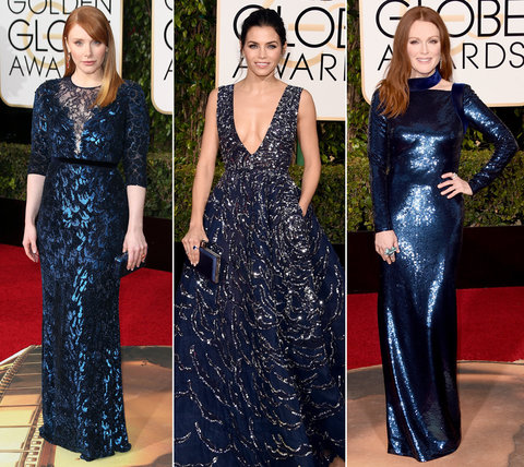 Blue Trend at Golden Globes - Lead