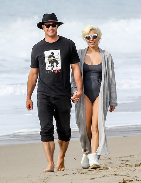 Taylor Kinney and Lady Gaga - ***DO NOT POST UNTL 7 PM EST ON 01/12***
