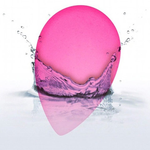 Beautyblender Dipped Into Water