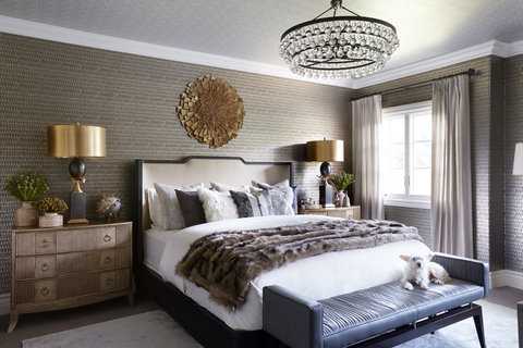Tour Kaley Cuoco S Guest Bedroom Photos Instyle Com