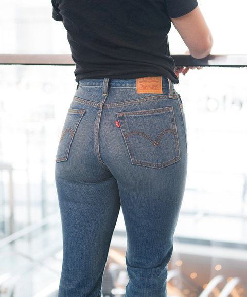 Tight asses in jeans for that