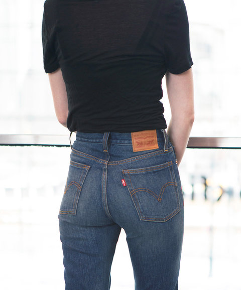 Editor Tested Levi S The Wedgie Jeans Review Instyle Com