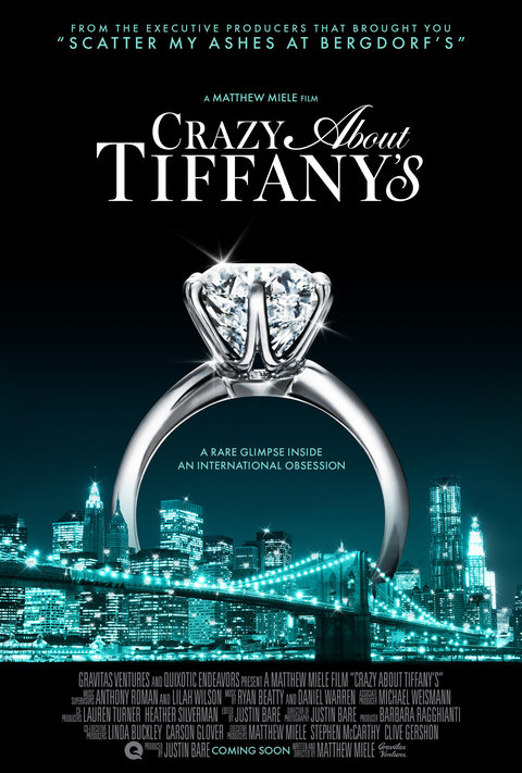 <p><strong><em>Crazy About Tiffany's </em></strong></p>