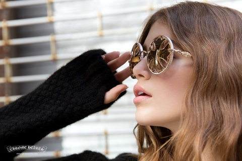 Kaia Gerber in her expensive glasses