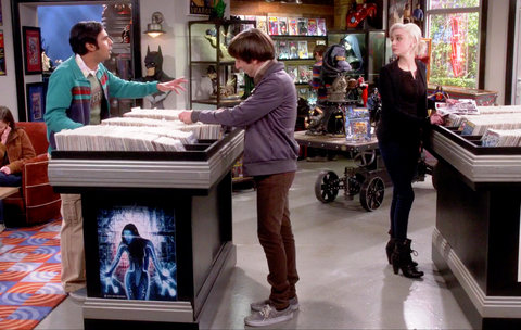 Big Bang Theory Table - LEAD