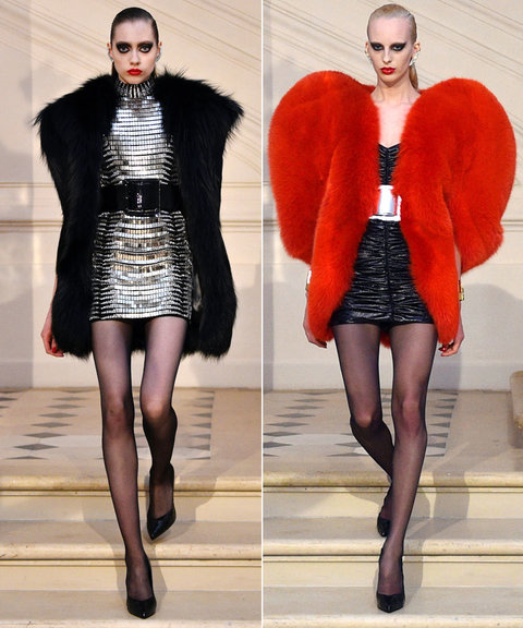 PFW, Saint Laurent, Givenchy