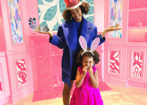 Beyonce Blue Ivy Bunny Party