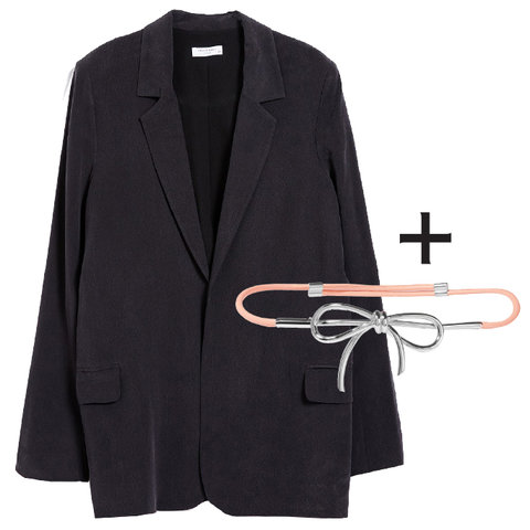 Blazer and Belt Perfect Pairing - Embed 1