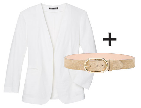 Blazer and Belt Perfect Pairing - Embed 3