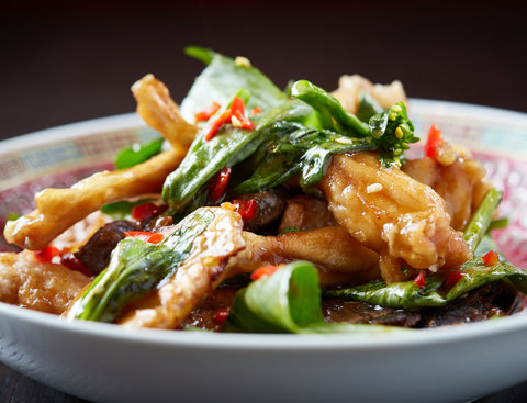 <p>Chongqing Chicken – Sichuan-Style Chicken with Chilis</p>