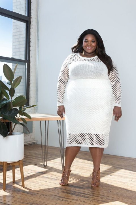 """How 5 Amazing Women Redefine Plus-Size Fashion """"Rules""""   InStyle.com"""